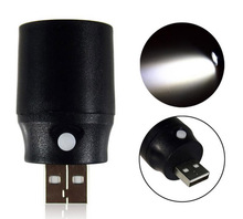 Mini Pocket Torch USB LED Light Flashlight Lamp 5V Multicolor Mini-Torch