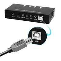 7.1 Channel External USB Sound Card Box Digital Audio Streaming Computer Adapter