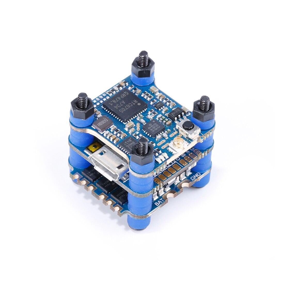 IFlight SucceX V2 رحلة مصغرة برج 2 6S مع SucceX F4 V2.1 FC/SucceX 12A V2 4 في 1 ESC/Succex حفرة/25/100/200/400/500 mW V2 VTX-في قطع غيار وملحقات من الألعاب والهوايات على  مجموعة 1