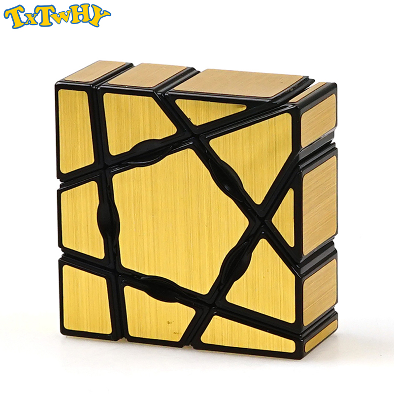 Mirror Puzzle Cube Professional Educational Learning Toys For Children Puzzle Brain Tester Twisty Magic Cube Toy Cube Magic Cube