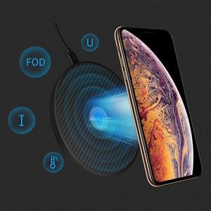 Image 3 - 15 ワット高速ワイヤレス充電器、 nillkin チー高速ワイヤレス充電パッド繊維 iphone XS 最大/XS/8/8 プラスサムスン s9/注 8/S8/S8 +