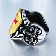Cross Armor Shield Ring
