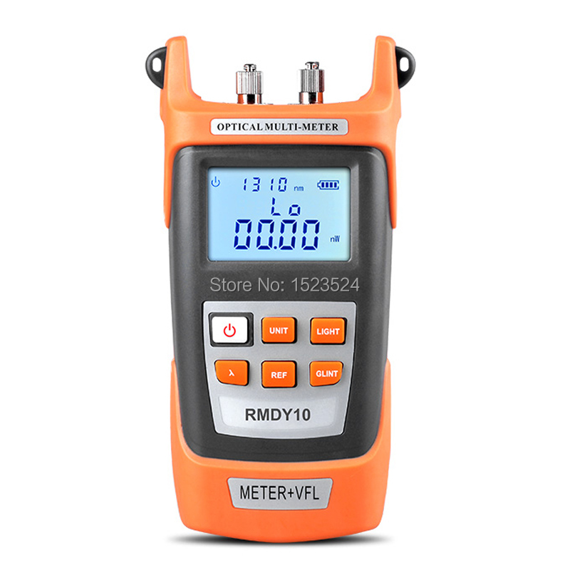 2 in 1 Optical Power Meter -70~+3dBm and Fiber Optic Cable Tester Visual Fault Locator 10mw