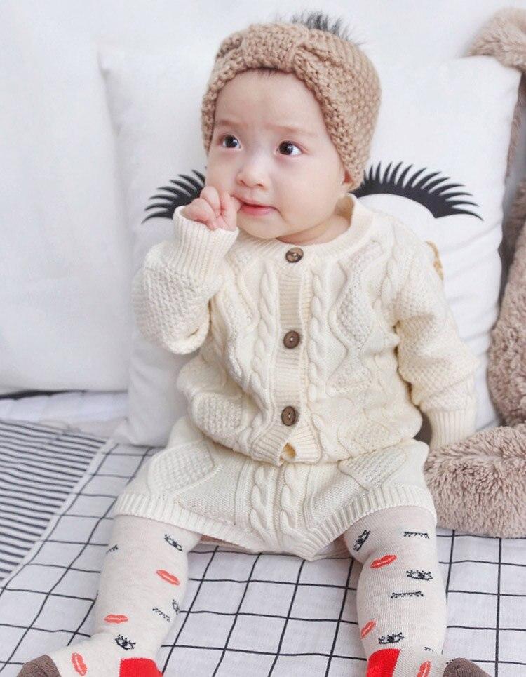 Детская Комплекты одежды для маленьких мальчиков Обувь для девочек твист вязать с длинными рукавами кардиган свитер Шорты для женщин комплект одежды Детские наряды для детей от 0 до 24 месяцев