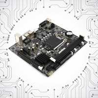 2018 New Professional H61 Desktop Computer Mainboard Motherboard 1155 Pin CPU Interface Upgrade USB2.0 DDR3 1600/1333