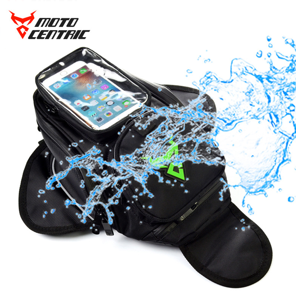 MOTOCENTRIC Motorcycle <font><b>Bags</b></font> Waterproof Touch Screen Motorbike Oil Fuel Tank <font><b>Bags</b></font> Magnetic Motorcycle Bike Saddle <font><b>Bag</b></font> Moto <font><b>Bags</b></font># image