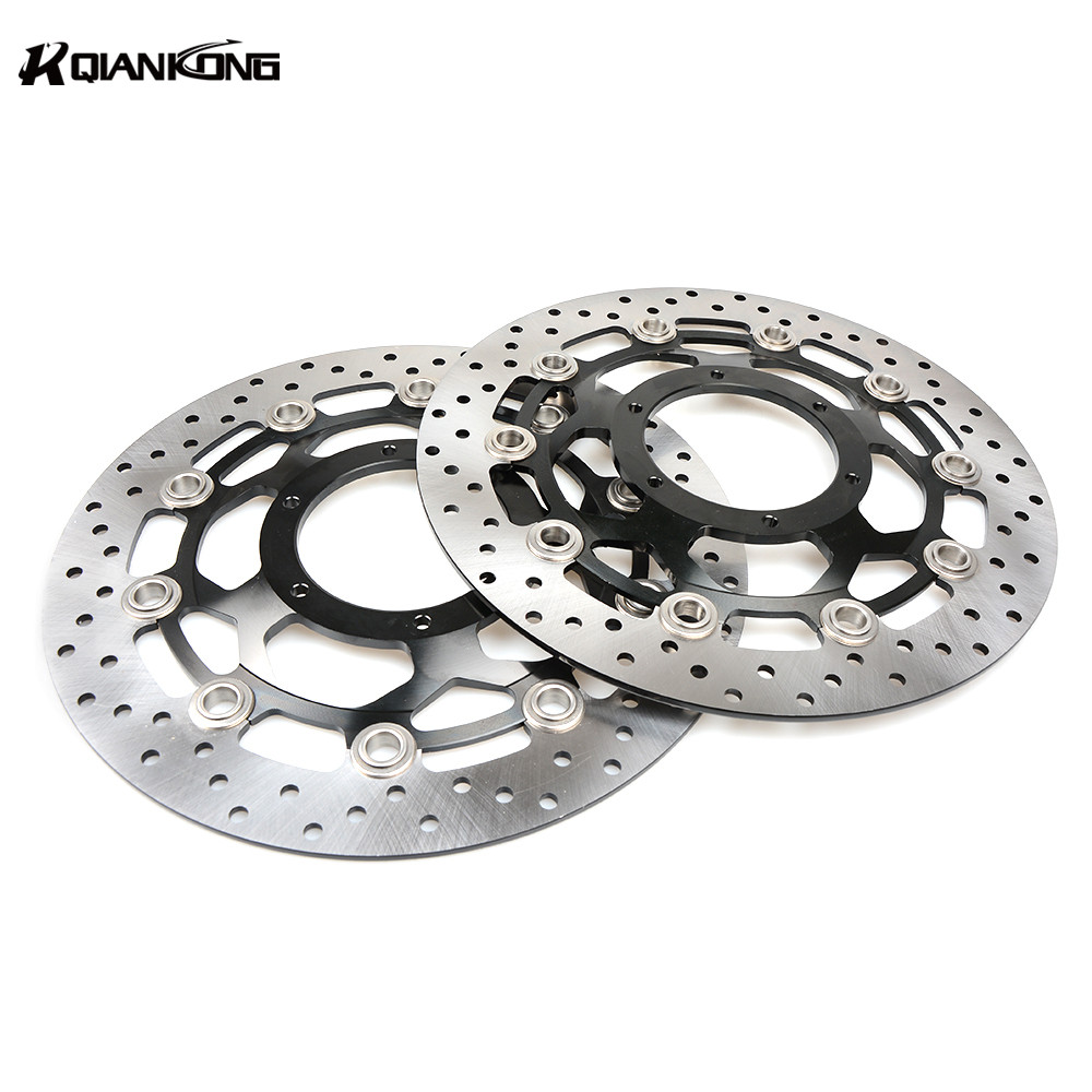 Paired Motorcycle Accessories Front Motorcycle disc brake rotor For HONDA CB1300 2003-2010 CBR600 2003-2006 keoghs motorcycle brake disc brake rotor floating 260mm 82mm diameter cnc for yamaha scooter bws cygnus front disc replace
