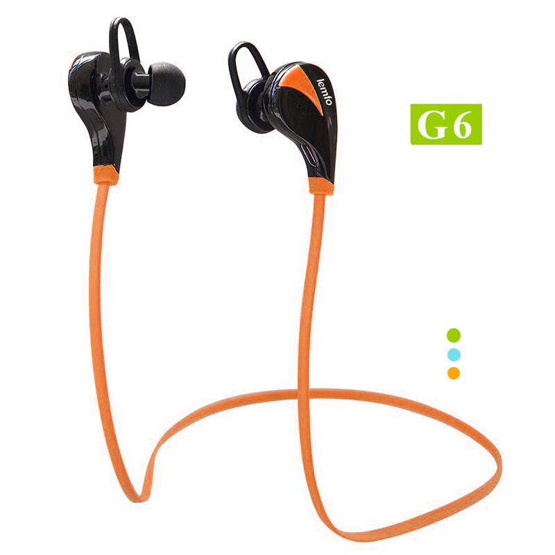 bluetooth 4 0 headset sports handsfree in ear stereo. Black Bedroom Furniture Sets. Home Design Ideas