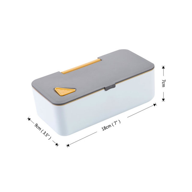 Contrast Design Lunch Box with Phone Stand