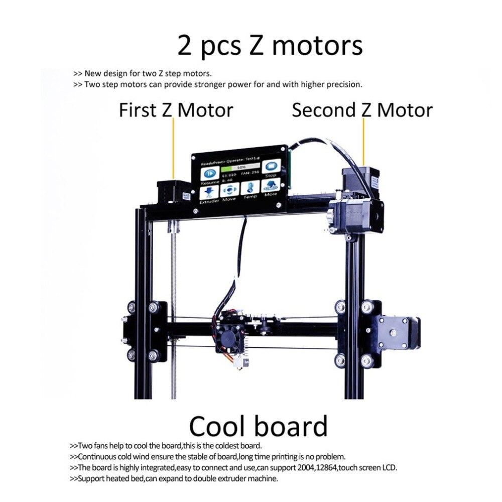 Flsun C-Plus 3D Imprimante Kit Grande Zone D'impression 300*300*420mm Auto Niveau Tactile Écran bureau DIY Machine D'impression