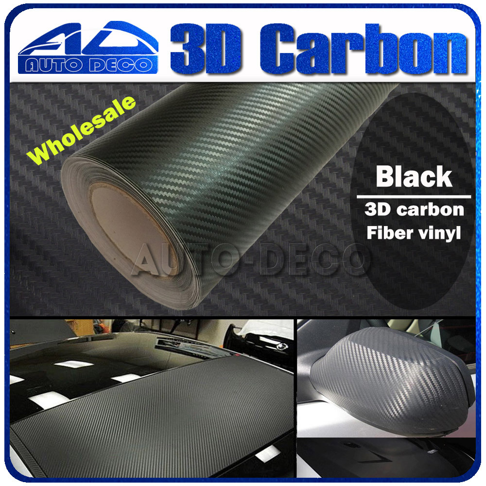 Wholesale High Quality 13 colors 3D Carbon Fiber Vinyl Car 30m  Car Wrapping Foil Sticker Free Shipping Air Bubble Free high quality wholesale 100m lot 2 3mm el wire with 10 colors for option free shipping