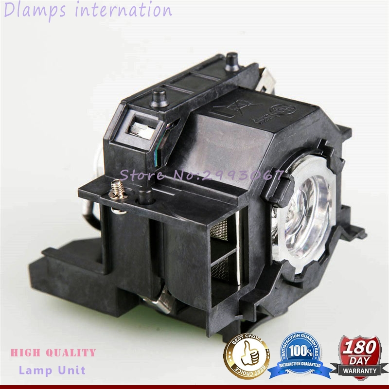 High Quality V13H010L41 Projector Lamp Module For EPSON EMP-S5 EMP-S52 EMP-T5 EMP-X5 EMP-X52 EMP-S6 EMP-X6 EMP-822 EX90 ELP41 projector lamp elplp43 v13h010l43 for epson emp twd10 emp w5d moviemate 72 with japan phoenix original lamp burner
