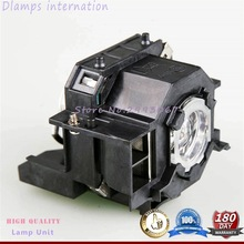Free Shipping ELPLP41/V13H010L41 Projector Lamp with Housing For EPSON EMP-S5 EMP-S52 EMP-T5 EMP-X5 EMP-X52 EMP-S6 EMP-X6 100% original projector lamp elplp35 v13h010l35 for emp tw520 emp tw600 emp tw620 emp tw680