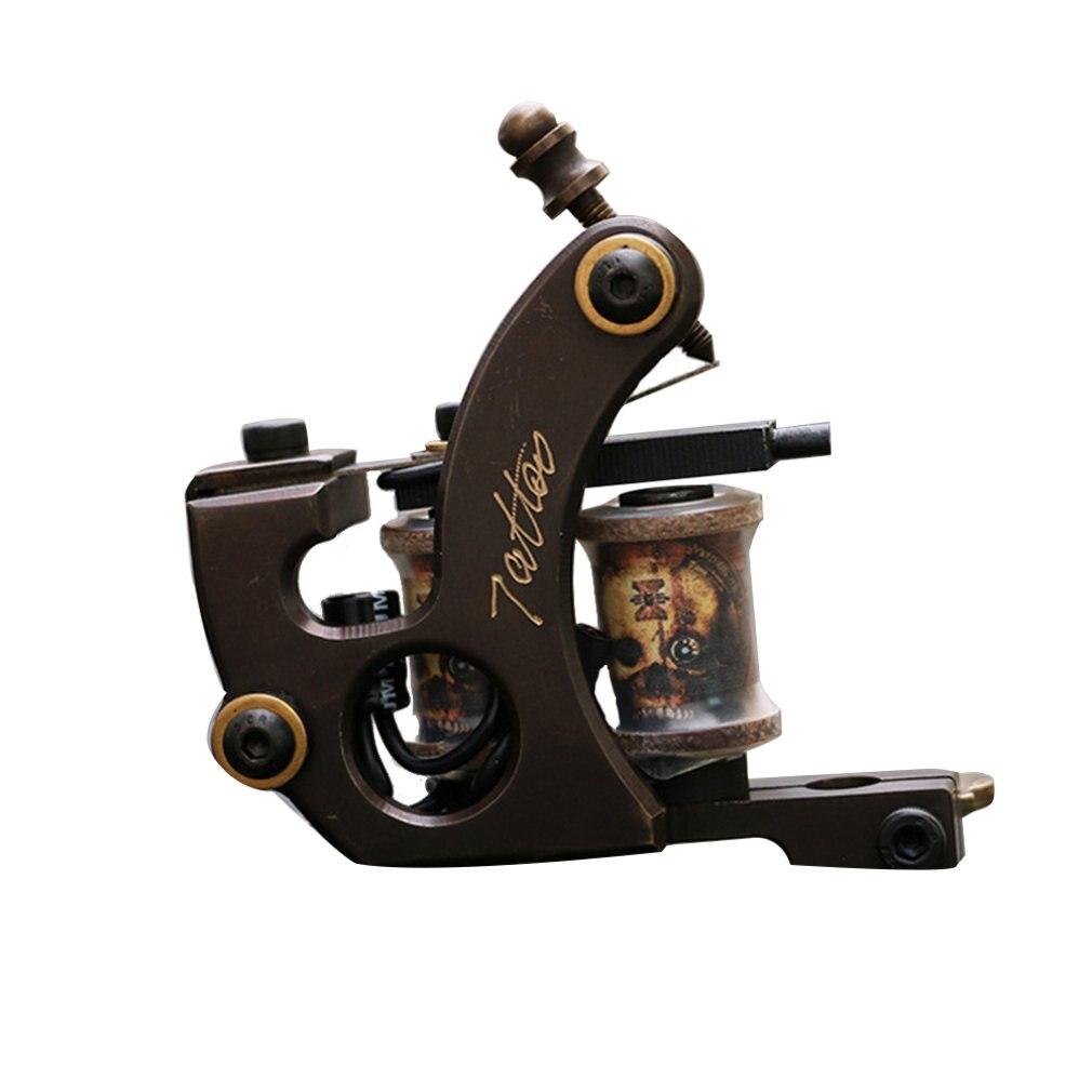 Le cuivre pur enveloppe la Machine de tatouage Shader les outils professionnels d'équipement de tatouage de Machine de tatouage de coupe de cuivre