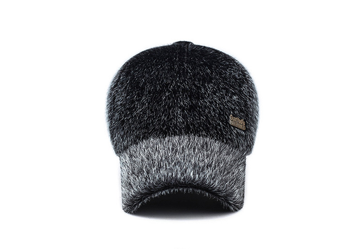 17 Winter Men's Warm Baseball Caps with Ear Flaps in Cold Weather Families Dad's Warm Hats Father's Best Gifts Keep Warm Hats 4