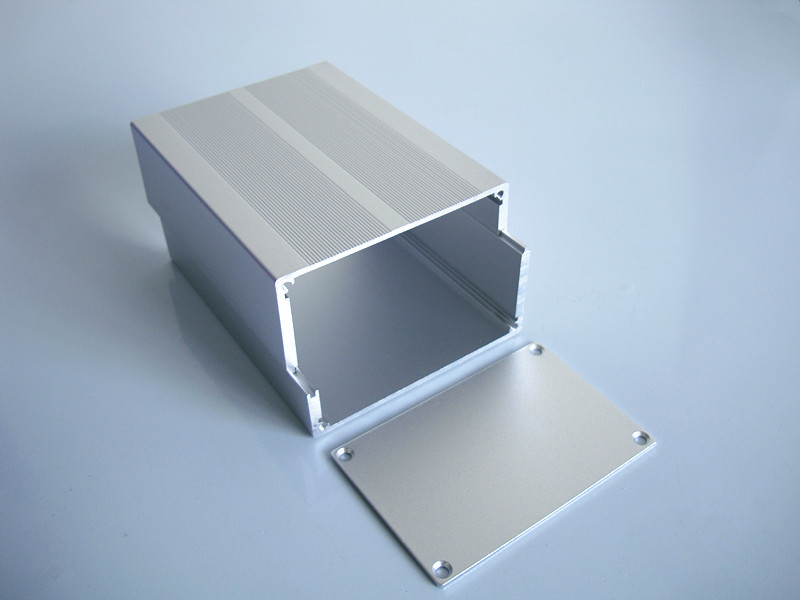 Power box PCB instrument chassis shell Aluminum Enclosure Projext box splitted DIY 84*55*110mm NEW. illusion money box dream box money from empty box wonder box magic tricks props comedy mentalism gimmick