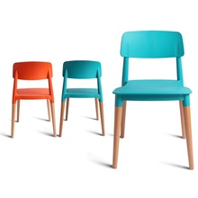 School classroom chair retail Adult night school education center stool wholesale blue red green color free shipping