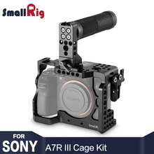 где купить SmallRig a7r3 Camera Cage Kit for Sony A7R III / A7M3 / A7III With Top Handle Grip HDMI Cable Clamp 2096 дешево