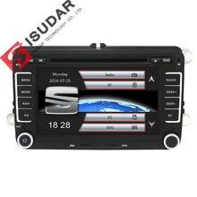 Isudar Car Multimedia player GPS 2 Din Autoradio For Seat Leon Altea Toledo VW Skoda Wifi