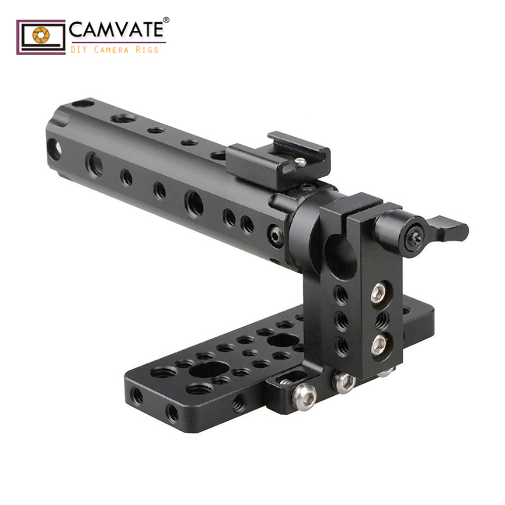 CAMVATE Top Handle Camera Grip Support Top Plate fr BlackMagic Cinema Camera BMCC C1106 camera photography