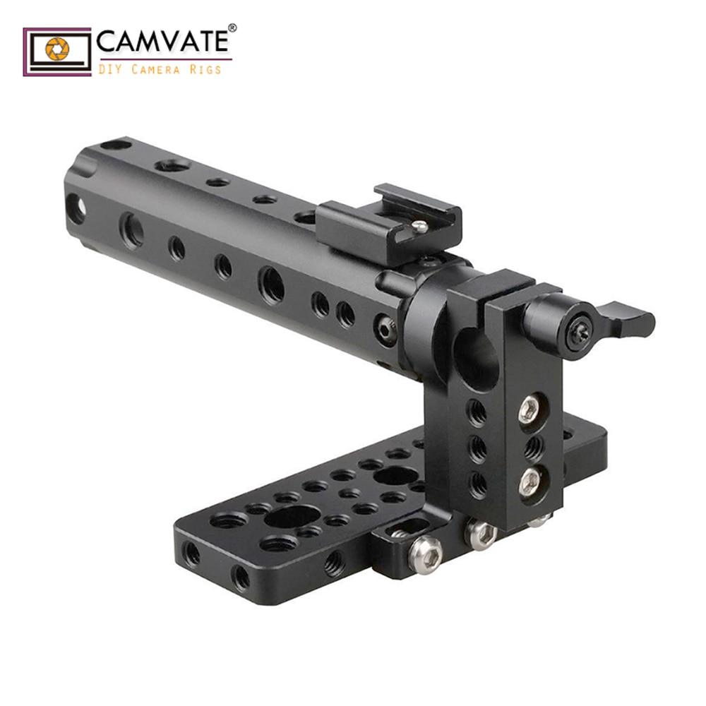 CAMVATE Top Handle Camera Grip Support Top Plate fr BlackMagic Cinema Camera BMCC C1106 camera photography