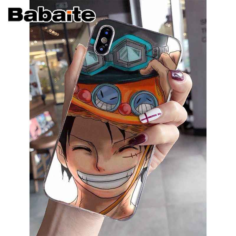 Babaite חתיכה אחת לופי TPU שקוף טלפון מקרה כיסוי מעטפת עבור Apple iPhone 8 7 6 6 S בתוספת X XS מקסימום 5 5S SE XR נייד כיסוי