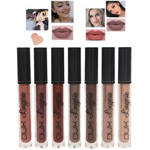 Matte Lip Gloss Tint Lipgloss Nude Set Red Lipstick Long Lasting Liquid Lipsticks Ny Lip Stick Waterproof Nyxed Makeup 15 Color(China)