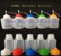 100pcs/lot Pe 30ml Needle drop bottle packaing bottle plastic bottle for  E Liquid Bottles Free shipping