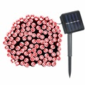 12M Solar Power 100 LED Light String Outdoor Lighting Garden Christmas Colorful LED Fairy Light Party Decor Waterproof