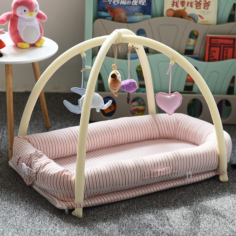 2019 New Dismountable Baby Nest Bed or Toddler Size Nest Portable Travel Crib Co sleeper Babynest for Newborn and Toddlers