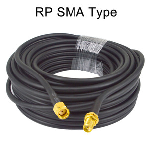 Image 5 - 15 Meter(49.2 Ft) Low Loss SMA Female to SMA Male Extension RG58 Coaxial Cable Connector