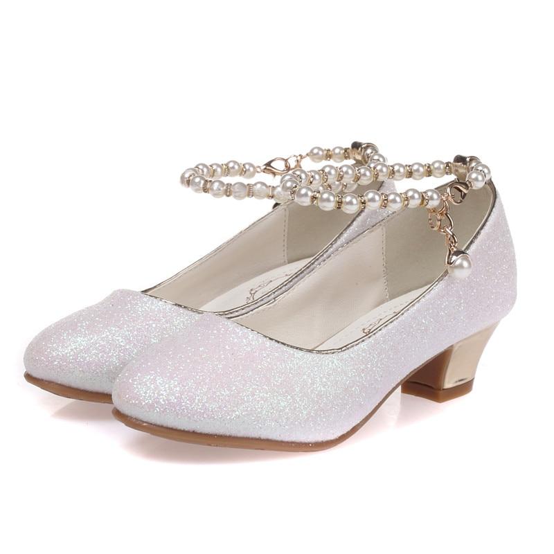 ULKNN 2019 filles princesse sandales enfants chaussures habillées pour filles chaussures à talons hauts enfants d'été sandales enfants fête sanda
