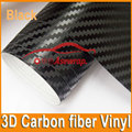 10/20/30/40/CMx152CM high quality thick 3D Carbon fiber vinyl 3D film car sticker for Car wrapping