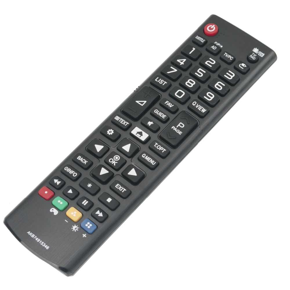 Remote mới AKB74915346 cho LG LED LCD 20MT48VF 22MT48VF 22MT48VF-PZ 22MT58VF 22MT58VF-PZ 24LH450U 24LH451U 24MT48VF 24MT58VF