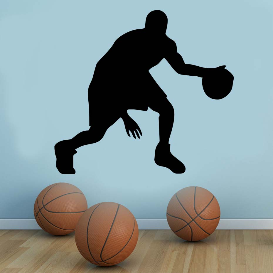 Passion Player Basketball High Quality Waterproof Wallpaper Mural