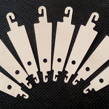 YZ 10 pcs Steel Hook needle threader help for hand sew Ribbon embroidery