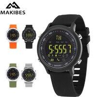 Original Makibes EX18 Sports Smart Watch BT 4 0 Call Reminder Remote Control Stopwatch Pedometer 5