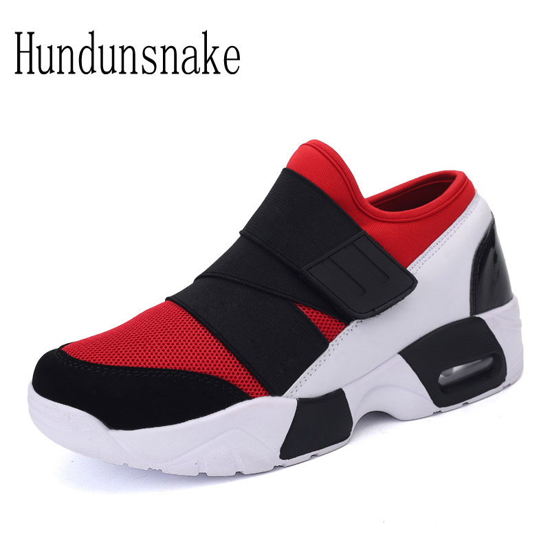 Hundunsnake 2018 Barefoot Shoes Men Sneakers Red Mesh Male Shoes Sport Adult Running Shoes For Men Krasovki Women Tenisky T113