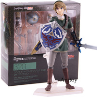 Action Figure Figma 320 Link Twilight Princess ver. DX Edition The Legend of Zelda Twilight Princess PVC Collectible Model Toy