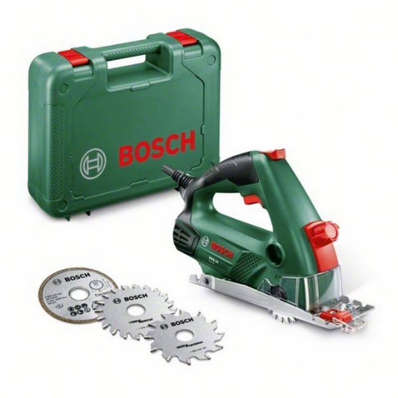 BOSCH 06033B3000 circular saw PKS <font><b>16</b></font> Multi <font><b>400</b></font> W 6400rpm Dm disc 65mm CutControl Lock Safety Suction dust image