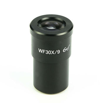 Stereo Microscope 30X Widefield Eyepiece Lens High Eyepoint Ocular 30mm Mounting Size WF30X 9mm 1 PC