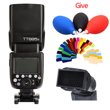 Godox tt685s 2.4g hss 1/8000 s gn60 wireless flash ttl speedlite for sony DSLR Camera A7 A7R A7S II A6300 A600