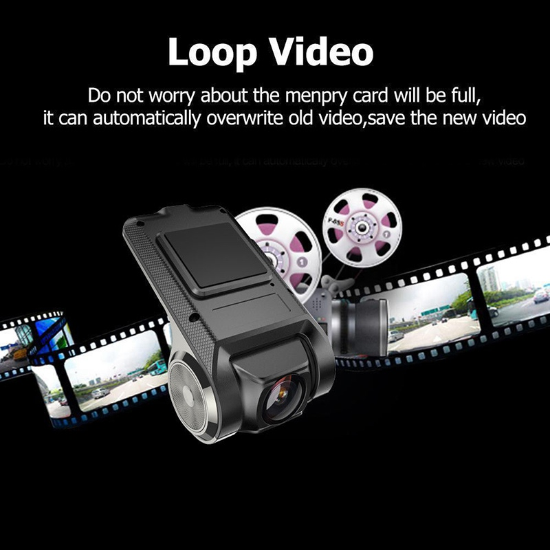 VicTsing 1080P Car DVR Camera Video Recorder WiFi ADAS G-sensor Recorder Android Auto Digital Video Recorder Dash Cam Full HD (7)