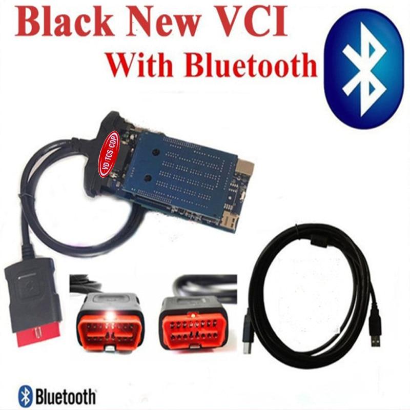 Prix pour Avec Keygen 2015. R3 vd TCS CDP Bluetooth Avec Double PCB Puce Pour Voitures Camions Multimarques Véhicules outil De Diagnostic