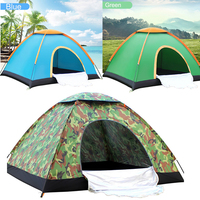 Outdoor Tents Protable Camping Beach Tent Waterproof for Sun Shelter,Travelling,Hiking Large Space 1 2 Person Tent