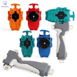 4 farbe 1 pc griff + Launcher Kunststoff Zubehör Puzzle Spielzeug Für Kinder