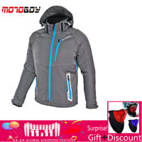 how yes MOTOBOY motorcycle winter jacket have warm liner Racing drop jacket Body Armor Protective Moto Motocross Off Road Racing