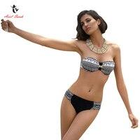 2017 Ariel Sarah Brand Hot Sales Swimwear Swimming Suit For Women Sexy Push Up Bikini Halter