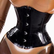 Очаровательные сексуальные резиновые корсеты из латекса толщиной 0,8 мм