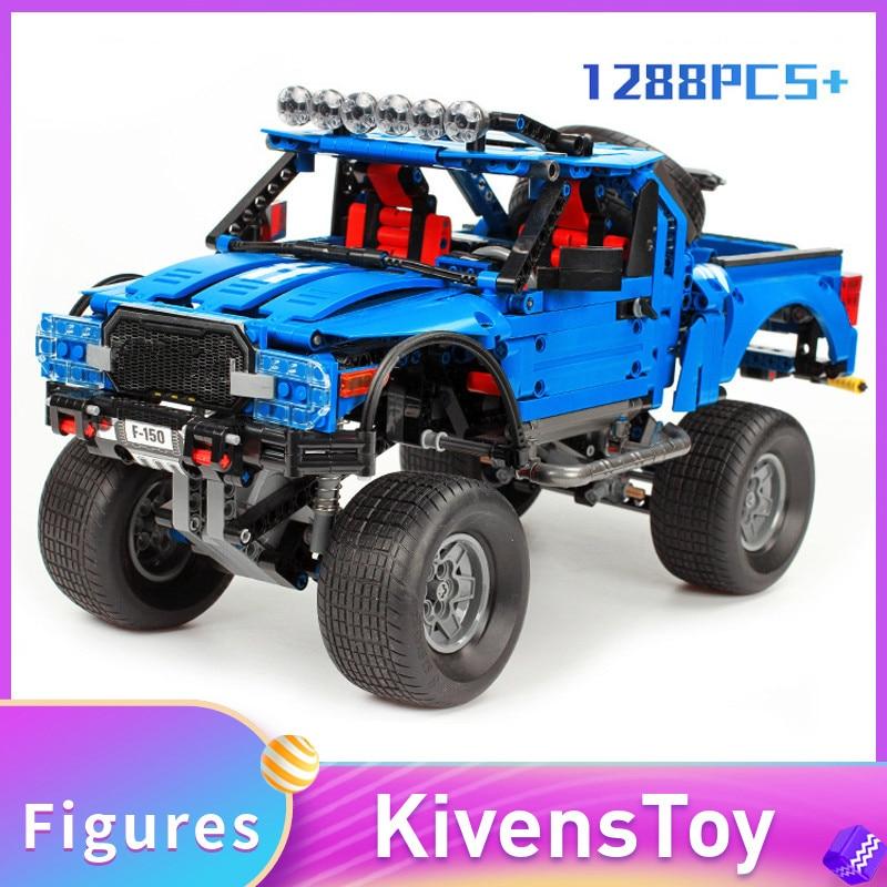 En STOCK Sembo 701970 le F-150 Raptor pick-up Set blocs de construction briques classiques jouets compatibles DIYINGly MOC Technic 1288 pièces